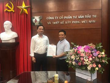Lễ trao quyết định bổ nhiệm tân Tổng Giám đốc Công ty CDC Trần Tuấn Anh