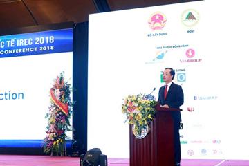 Khai mạc Hội nghị Bất động sản quốc tế IREC 2018
