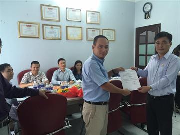 Bổ nhiệm bí thư chi bộ CDCs cho đồng chí Hoàng Cao Hải - Tổng  Giám đốc công ty CDCs