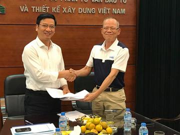 Lễ bàn giao giữa Nguyên Chủ tịch HĐQT CDC nhiệm kỳ I, II (2007-2017): ông Lê Văn Chấn và Tân Chủ tịch HĐQT nhiệm kỳ III (2017-2021) - Ông Trần Bình Trọng