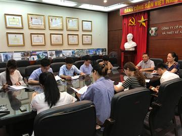 Buổi gặp mặt kí hợp đồng lao động tháng 6 năm 2019