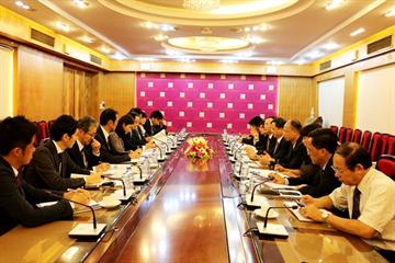 Bộ trưởng Phạm Hồng Hà tiếp Nghị sĩ Hạ viện Nhật Bản Watanabe Hiromichi