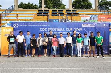 Giải bóng đá công ty CDC chào mừng 28 năm thành lập (18/9/1991-18/9/2019)