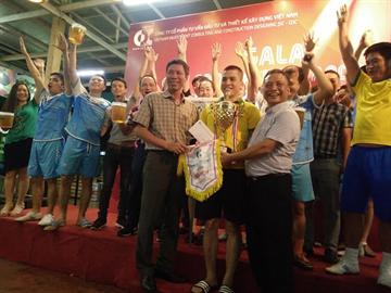 Chung kết giải đấu CDC FOOTBALL CUP 2019