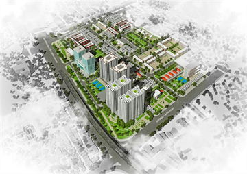 Lễ động thổ xây dựng dự án khu chung cư mới Đổng Quốc Bình HH3-HH4