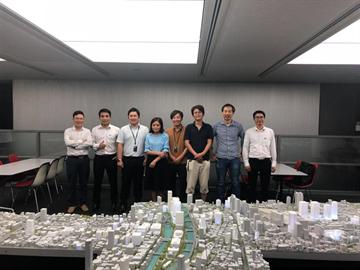 Đoàn cán bộ CDC làm việc tại công ty NIKKEN SEKKEI LTD, Nhật Bản