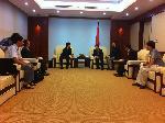 Ông Lê Nam Thắng - Thứ trưởng Bộ thông tin truyền thông Lãnh đạo Cty Nikken Sekkei (Nhật Bản) và Cty CDC