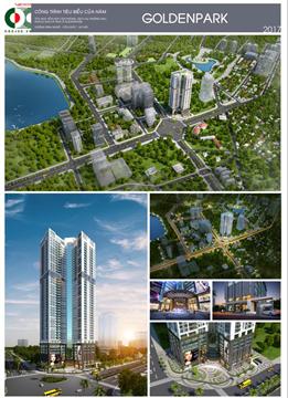 Công ty CDC tham gia lễ công bố và ra mắt dự án Goldenpark Tower