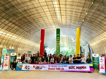 Chi hội kiến trúc sư công ty CDC tổ chức lễ kỉ niệm ngày kiến trúc Việt Nam