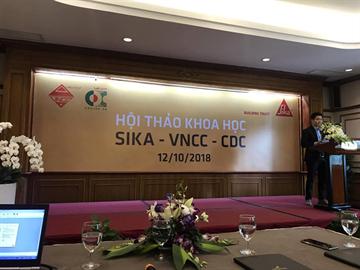 HỘI THẢO KHOA HỌC SIKA - VNCC -  CDC