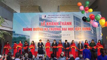 Khánh thành giảng đường H3 Đại học Xây Dựng