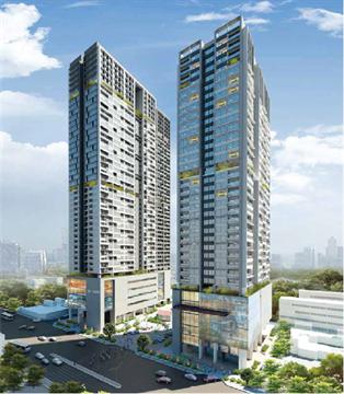 Tòa nhà hỗn hợp cao tầng đô thị Sông Đà