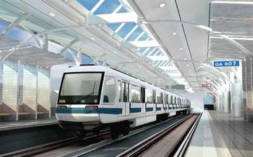 Tuyến đường sắt đô thị thí điểm TP Hà Nội đoạn Nhổn – Ga Hà Nội