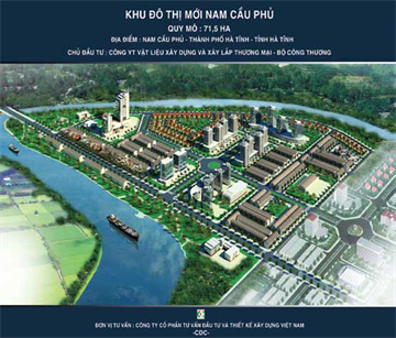 Khu đô thị mới Nam Cầu Phủ - Hà Tĩnh