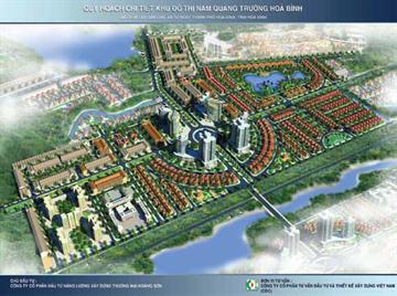 Quy hoạch chi tiết 1/500 khu đô thị Nam quảng trường Hòa Bình