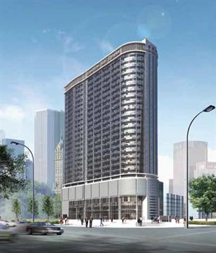 Trung tâm thương mại, văn phòng cho thuê, nhà ở và chợ Trung Hòa