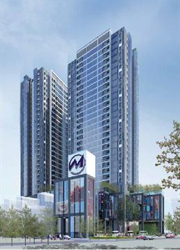 Trung tâm thương mại, văn phòng và chung cư cao cấp Matexim Plaza